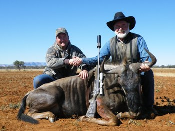 June 26, 2011 Blue Wildebeest Hunt