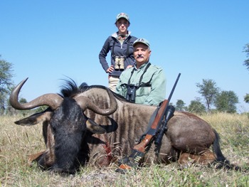 2010 Blue Wildebeest Hunt