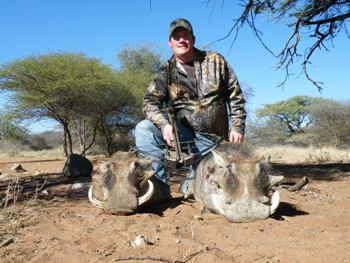 June 2011 Crossbow Warthog Hunt