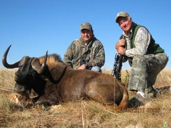 August 2011 Black Wildebeest Hunt