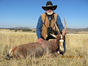 May 2012 Blesbok Hunt