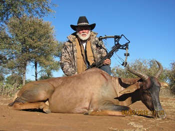 May 2012 World Record Tsessebe Hunt