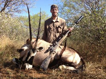 April 2012 Gemsbok Hunt