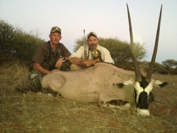 July 2013 Gemsbok Hunt